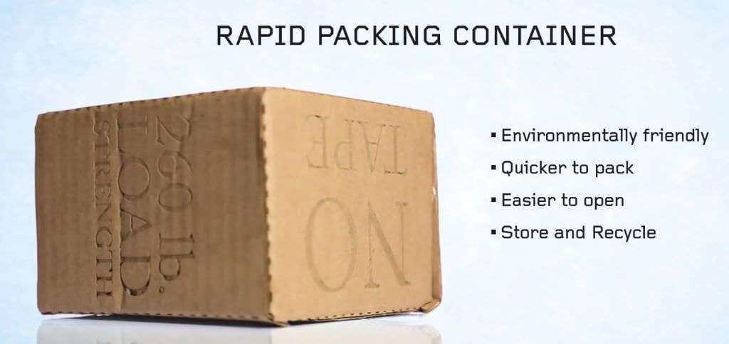 The Rapid Packing Container