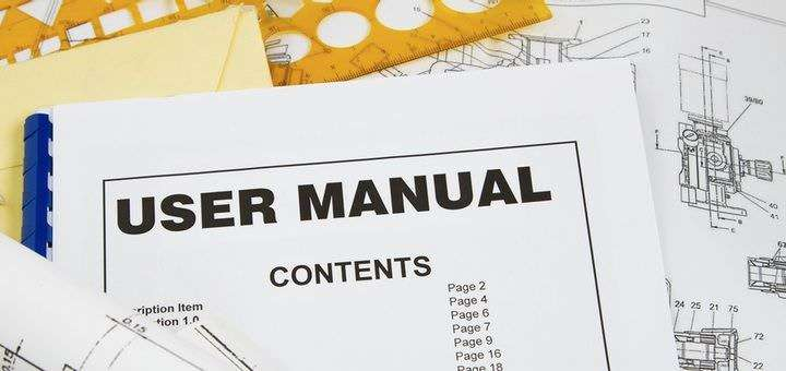 the user manual as part of ce marking